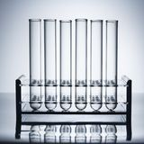 Test tubes. Stock Photography
