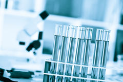 Test tubes.  royalty free stock images