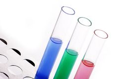 Test Tubes Royalty Free Stock Photography