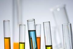 Test tubes Royalty Free Stock Image