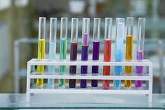 Test tubes Stock Photography