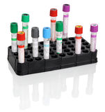 Test tubes for blood Stock Image