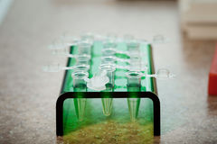 Test tubes and dropper Stock Photography