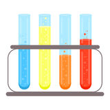 Test tubes icon. Stock Image