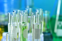 TEst Tubes in Laboratory Stock Image