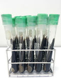 Test tubes. Laboratory glassware,test in laboratory Royalty Free Stock Image