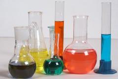 Test-tubes Stock Image