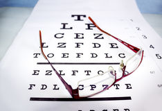 Test for your eyesight Royalty Free Stock Images
