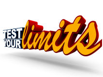 Test your limits Royalty Free Stock Photo