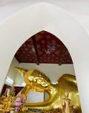 Testa adagiantesi del Buddha Fotografia Stock Libera da Diritti