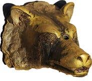 Testa antica del lupo Fotografia Stock Libera da Diritti