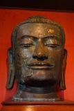 Testa bronzea di Buddha Immagini Stock