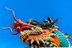 Testa cinese del drago Fotografie Stock
