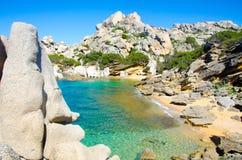 Testa de capo - belle côte de la Sardaigne photos libres de droits