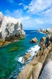 Testa de capo - belle côte de la Sardaigne images libres de droits