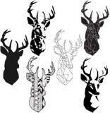 Testa dei cervi royalty illustrazione gratis