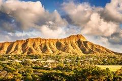 Testa del diamante a Honolulu, Hawai Fotografia Stock Libera da Diritti