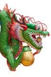Testa del drago immagine stock