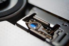 Testa del laser di CD/DVD-ROM Immagini Stock