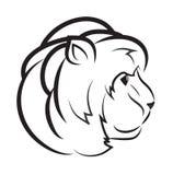 Testa del leone, illustrazione fotografie stock libere da diritti