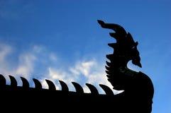 Testa del Naga fotografia stock libera da diritti