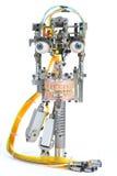 Testa del robot Fotografia Stock Libera da Diritti