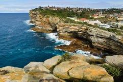 Testa del sud del porto di Sydney Immagini Stock