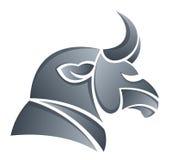 Testa del toro Immagine Stock