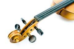 Testa del violino immagini stock libere da diritti