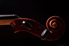 Testa del violino Immagine Stock Libera da Diritti