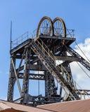 Testa dell'asse di miniera del diamante di Kimberley immagine stock