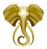 Testa dell'elefante royalty illustrazione gratis