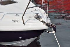 Testa dell'yacht Fotografia Stock Libera da Diritti