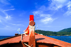 Testa della barca Immagini Stock