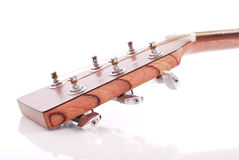 Testa della chitarra Immagine Stock
