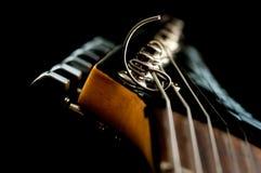 Testa della chitarra immagini stock