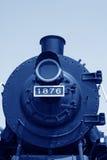 Testa della locomotiva a vapore Fotografia Stock Libera da Diritti