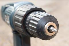 Testa della macchina del trapano Fotografia Stock
