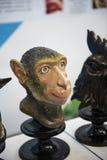 testa della scimmia di stampa 3D Immagini Stock
