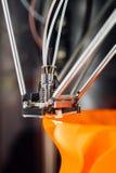 testa della stampante 3D Fotografia Stock