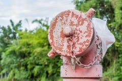 Testa della valvola del tubo dell'acqua Immagini Stock Libere da Diritti