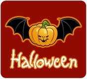 Testa della zucca del Halloween della Jack-O-Lanterna Immagine Stock