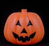 Testa della zucca di Halloween Fotografie Stock