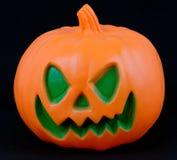 Testa della zucca di Halloween Fotografia Stock
