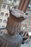 Testa delle statue Immagini Stock