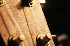 Testa delle ukulele fotografia stock libera da diritti