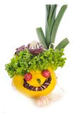 Testa delle verdure Immagine Stock Libera da Diritti