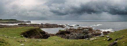 Testa di Achill in contea Mayo sulla costa ovest dell'Irlanda Immagine Stock Libera da Diritti