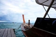 Testa di boad sul fondo del mare Immagine Stock