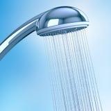 Testa di doccia Fotografia Stock Libera da Diritti